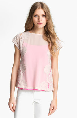 Ted Baker Lace Top Shell 5