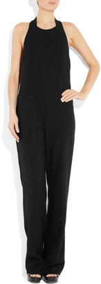 Stella McCartney Wool-blend hopsack jumpsuit