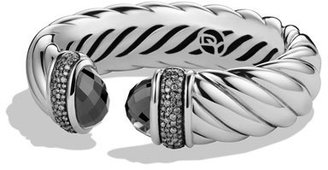 David Yurman Waverly Bracelet with Hematine and Gray Diamonds $3,500 thestylecure.com