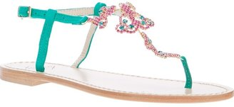 Caruso embellished sandal