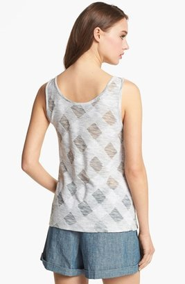 Marc by Marc Jacobs Check Cotton Tank