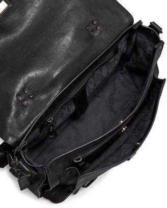 Proenza Schouler PS1 Medium Satchel Bag, Black