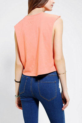 Truly Madly Deeply Sup Cropped Muscle Tee