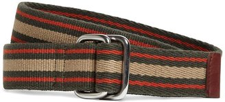 Brooks Brothers Canvas D-Ring Belt
