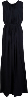 No.21 No. 21 Long Pleated Front Dress