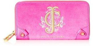 Juicy Couture Snowflake Velour Zip Wallet