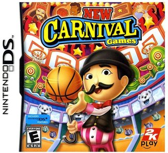 Nintendo New carnival games for ds