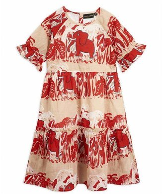 Mini Rodini 4 Elephants Woven Dress 2-8 Years