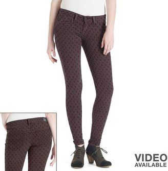 Levi's 535 geometric denim leggings