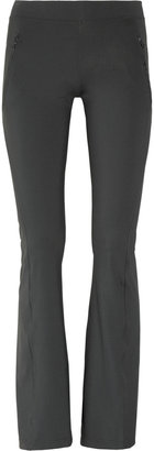 adidas by Stella McCartney Studio stretch flared track pants