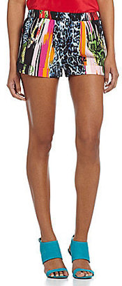 RD Style Cuffed Printed Shorts