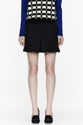 Marni EDITION Black Washed Tecnical Skirt