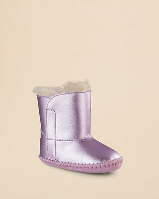 UGG Girls' Cassie Metallic Booties - Baby, Walker