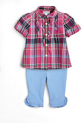 Ralph Lauren Infant's Plaid Tunic & Leggings Set