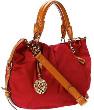 Vince Camuto Cristina Satchel 1 (Rio Red/Glaze) - Bags and Luggage