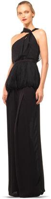 Max Studio Wide Legged Crepe Trousers