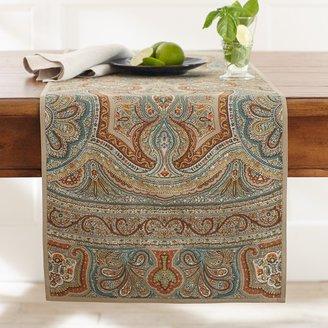 Williams-Sonoma Engineered Paisley Print Table Runner