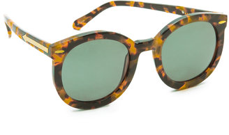 Karen Walker Super Duper Strength Sunglasses $250 thestylecure.com