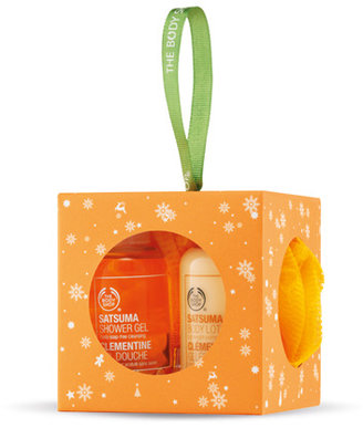 The Body Shop Mini Satsuma Gift Cube