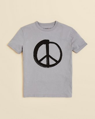 John Varvatos Boys' Peace Sign Tee - Sizes 4-7