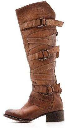 Freebird by Steven Ojai Tall Wrap Strap Boots