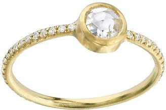 Irene Neuwirth rose cut diamond ring