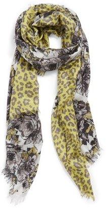 Nordstrom 'Panthera' Cashmere & Silk Scarf