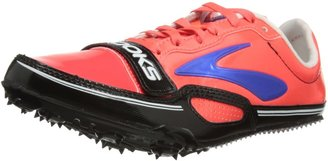 Brooks Womens PR Sprint 11.38 Track and Field Shoes 1201301B828 Fiery Coral/Electric Blue/Black 9.5 UK 44 EU 11.5 US Regular