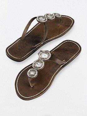 Pendleton Mahati Disc Beaded Sandals