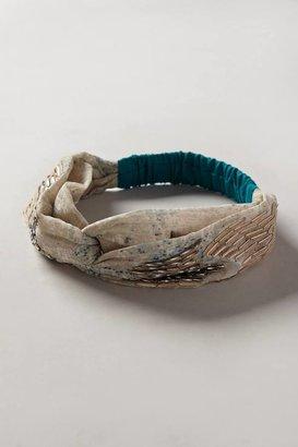 Anthropologie Winding Waters Turban Headband