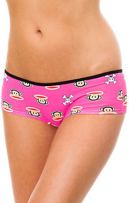 Paul Frank The Cheeky Allover Printed Panty in Pink