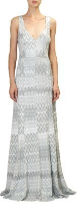 Missoni Flame Knit Gown