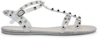 Valentino Garavani Rockstud Glittered Sandals