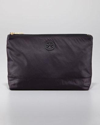 Tory Burch Large Nylon Cosmetic Case, Black