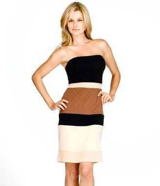 Sweetees colorblock tube dress