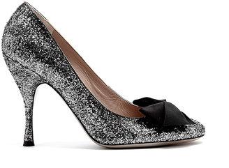 Marc Jacobs Galactica Glitter Mid-heel Shoes