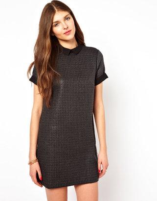 Vila Dress With Collar