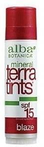 Alba Mineral TerraTints SPF 15 Lip Balm, Blaze