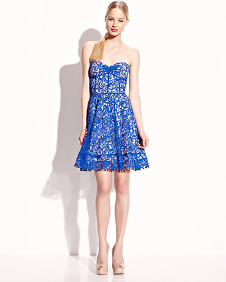 Betsey Johnson Sweetheart Strapless Dress