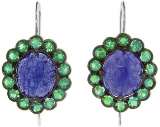 Cathy Waterman emerald lace earring
