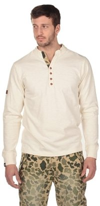 Camo Placket Henley