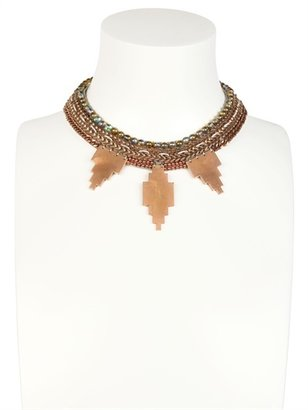 Fiona Paxton Gloria Cream & Rose Gold Plated Necklace