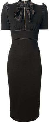 DSquared DSQUARED2 mid-length fitted dress