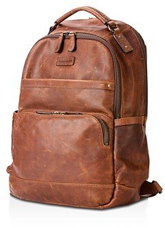 Frye Logan Leather Backpack