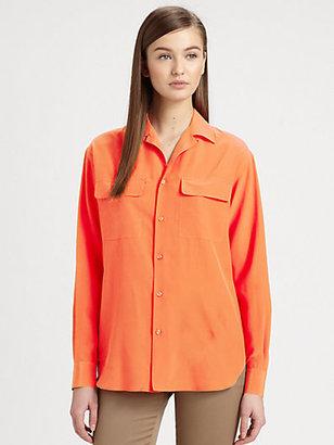 Ralph Lauren Black Label Silk Kayden Shirt