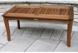 Outdoor Interiors Eucalyptus Coffee Table