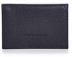 Longchamp Le Foulonne Leather Card Case