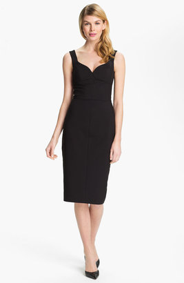 Black Halo 'Ally' Sweetheart Sheath Dress