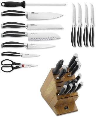 Zwilling J.A. Henckels Twin Cuisine II 12-Piece Knife Block Set
