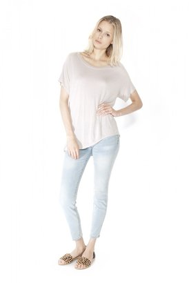 Enza Costa Side Flare Top